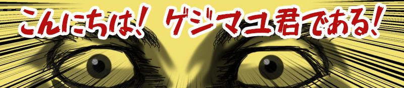 【著者】ゲジマユ君