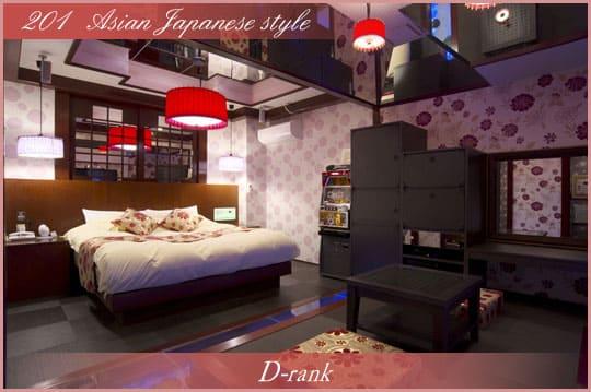 東平尾のラブホテル「La La Tsukasa」の部屋